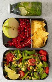 5 vegane Schulspeisungsideen ohne Hitze für das College – Essen – #College #D …   – Gesunde Leben