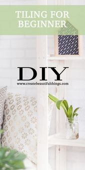 Teach Yourself To Tile by Lindsay Ferguson | Createbeautifulthings