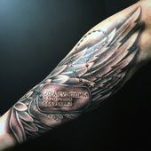 30 Dog Tag Tattoos for Men – Masculine Design Ideas