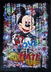 Wallpaper disney art mixed media 41+ Ideas