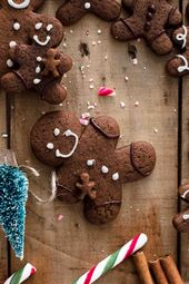Chocolate Gingerbread Men Cookies – BROWNIE LUV & CHOCOLATE