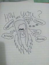 Menschen neigen dazu, ihre Gefühle zu verbergen, wenn sie traurig sind, weil sie …   – Zeichnen – #dazu #Gefühle #Ihre #menschen #neigen