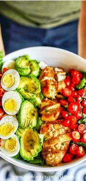 Chicken Cobb Salad – Simply Salads