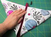 Sew cosmetic bag in 15 minutes   – Nähen, Tasche