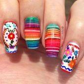 Flower Nail Designs   – Weihnachts-Design