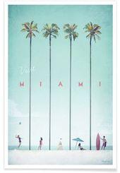 Miami – Henry Rivers – Premium Poster