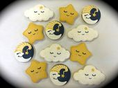 Baby Showers Twinkle Baby Shower Cookie Favors Twinkle Twinkle Little by ClawsonCookies