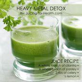 Tun Sie dies mit Koriander und Petersilie für 14 Tage, um Ihren Körper von Schwermetallen und schädlichen Toxinen zu befreien   – Gainz