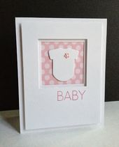 Baby Cards I'm in Haven: Framed Onesies