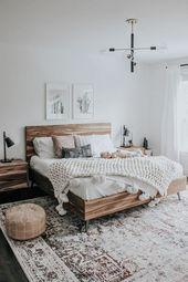 39+ Elegante und einfache Schlafzimmerdekorationen – Was ist das? – pecansthomedecor.com   – Einrichtung