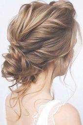 39 Wedding Hairstyles For Medium Hair ❤️ wedding hairstyles for medium hair elegant low curly updo with loose curls tonyastylist #weddingforward #...