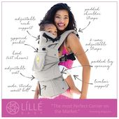 Baby Carrier Lillebaby Complete Original Baby Carrier In Black