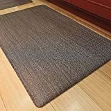 Luxe Therapeutic Floor Mats Woven Vinyl Is Uv Stable Greenguard Certified Driftwood Driftwood Kitchen Floor Mats Flooring