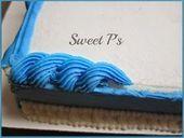 Strickbordüre – #border #rope – Kuchen dekorieren Schreibideen – #border #Cake …   – Blechkuchen
