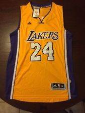 Kobe Bryant La Lakers Adidas Swingman Jersey Size Medium Free Shipping Kobe Bryant La Lakers La Lakers Kobe Bryant