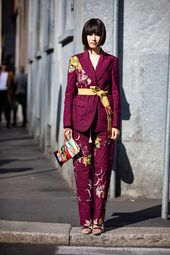 Monochromatic White Was a Street Style Hit This Weekend at Milan Fashion Week