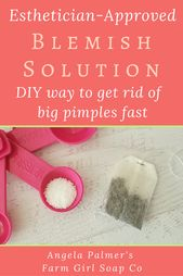Esthetician-Approved Way to Get Rid of a Big Pimple