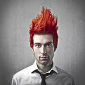 Top 20 Crazy Hairstyles For Men | Crazy Haircuts of 2020-Flamed Up Top