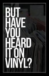 On Vinyl Wall Art Print Vinyl Wall Art Vinyl Quotes Dj Quotes