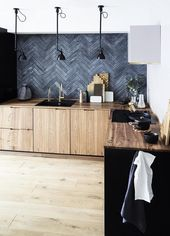 Warning: These Kitchens Will Sell You on a Black Slate Backsplash