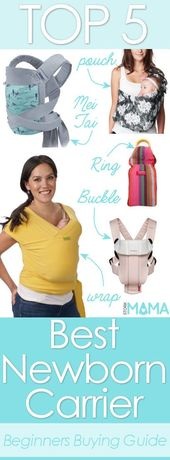 Baby Carrier Looking for the best newborn carrier? Check out our reviews and huge buying guid...