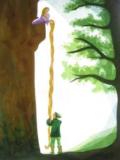 Rapunzel+von+Art+4+Windows+auf+DaWanda.com