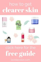 Clear Pores and skin Information Freebie