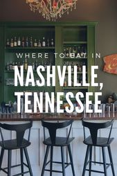 Eat Up: The Greatest Eating places in Nashville, In keeping with Me
