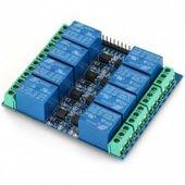 El817 Practical 5v 10a Optocoupler Relay Module 8 Channels Development Boards Relay Development
