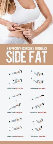 8 effektive Übungen zur Reduzierung des Seitenfet…