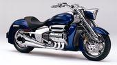 Honda Valkyrie Motorrad Hintergrund HD   – Powerful dreams