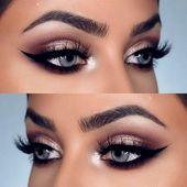 Schminke blaue Augen   – Make Up