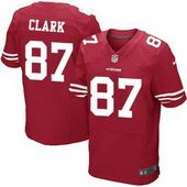 da99cee1fdb ... Grey Shadow Youth Super Bowl XLVII Embroidered NFL Elite Jersey · Mens San  Francisco 49ers 87 Dwight Clark Scarlet Red Retired Player NFL Nike…
