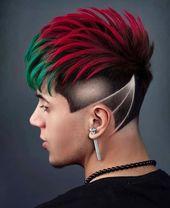 Frisur von 👉 Amir Ha.oxygen_ 🔥⚡️✂️ ▪🔥⚡️✂️ Für mehr Frisuren - besuchen Sie die Seite unten 👇 ▪👇 ️ Barber Inspiration ➡️ @internati ...