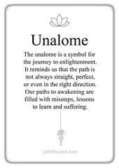 # unalome♔ Unalome