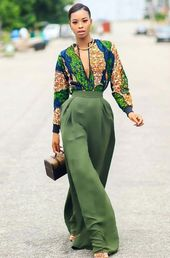 13 methods to fashion African Tops