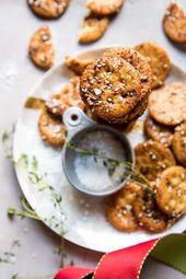 Addicting Baked Seasoned Ritz Crackers – #Addictin…