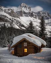 "Cozy Log Cabin on Instagram: """"Life begins at th…"