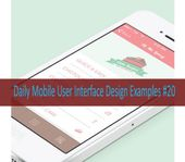 Daily Mobile User Interface Design Examples #20