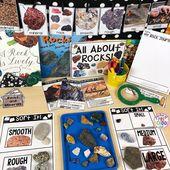 All About Rocks- Science for Little Learners (preschool, pre-k, & kinder)