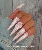 30 große Stiletto Nail Art Design-Ideen #nailart – Nails – #Art #DesignIdeas …   – Nail Design