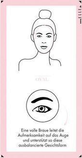 Pin Auf Augenbrauen