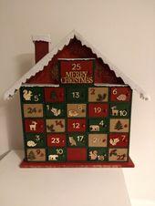 #Advent-Kalender #DIYadventcalendar #woodenadventcalendar #woodland Christmas – Weihnachten