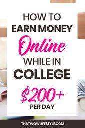 wie man am college das meiste geld verdient