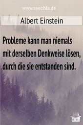 Probleme   – Sprüche