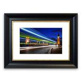 East Urban Home Framed Poster Big Ben Speed of Light 7 | Wayfair.de