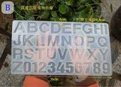 English Alphabet Silicone Mold. Resin Charm Jewelry. UV Resin Epoxy Resin Mold.  – Products