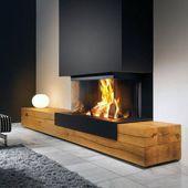 Top 70 der besten modernen Kamin-Design-Ideen – Lu…