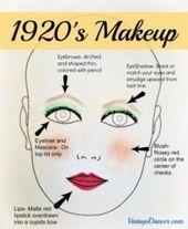 Authentisches 20er Jahre Makeup Tutorial – #20er #20s #Authentisches #Jahre #Makeup