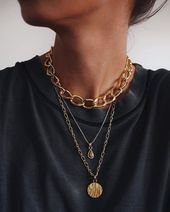 How do we feel about statement jewelry? Love or love? // all pieces of # …